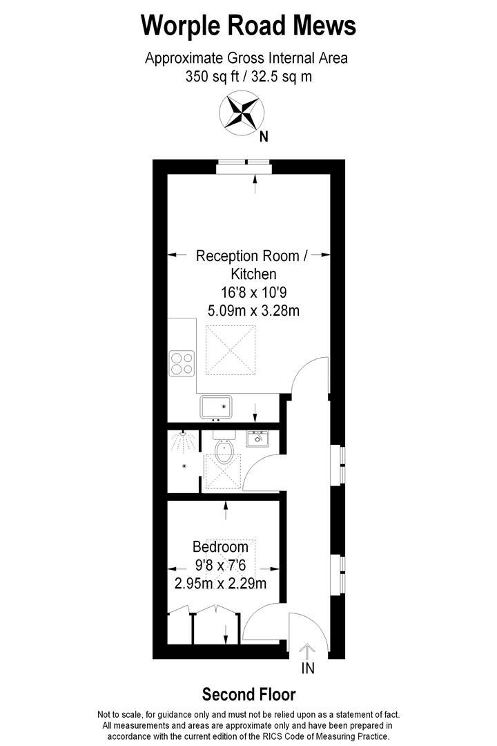 Floorplan for Worple Road Mews, Wimbledon